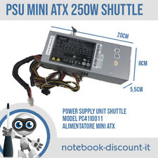 Shuttle PSU 250W Mini ATX PC41I0011 20x8x5,5 cm Power Supply Unit TESTED