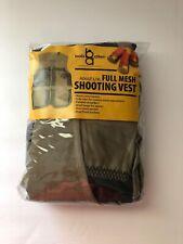 Bob Allen Full Mesh Khaki Shooting Hunting Vest Size L/XL NWT