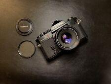 Konica Autoreflex T3 I Konica F1.8 52mm Lens I Film Tested