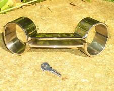Handschellen bound.de bondage Kubind KB 133 snap shut NEU stainless steel