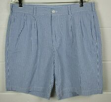 Mens Brooks Brothers Seersucker Cotton Shorts 36