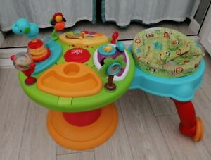 Bright Starts 3 in 1 Activity Centre Around We Go  jumper baby musical walker