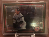 2010 Bowman Chrome Derek Jeter #147  New York Yankees