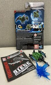 GENTLY USED 100% complete Transformers WFC Earthrise Pteraxadon Battle Master!!