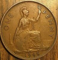 1948 UK GB GREAT BRITAIN ONE PENNY