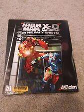 Iron Man X-O Manowar in Heavy Metal Acclaim Vintage DOS CD-ROM PC Game (1996)