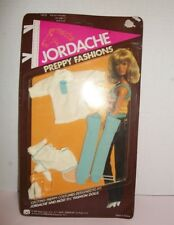 VINTAGE MEGO JORDACHE DOLL 11 1/2 INCHES 1981 PREPPY FASHION CLOTHES NOC SEALED