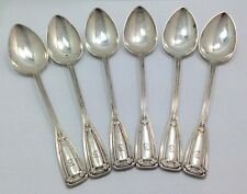 Antique Tiffany & Co. St. Dunstan Pattern Sterling Silver Spoons 1909m Set of...