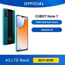 """Cubot Note 7 Smartphone Triple Camera 13MP 4G LTE 5.5"""" Android 10 Free Gift"""