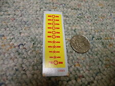 Herald King decals HO US Stars yellow red  ZZ12