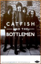 CATFISH AND THE BOTTLEMEN The Balcony Ltd Ed RARE Poster +FREE Rock Poster! RIDE