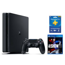 PlayStation 4 Slim 1TB Console + MLB The Show 20 + PlayStation Plus 3 Month