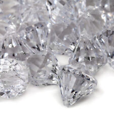 1lb Clear Acrylic Diamond Shaped Gems Wedding Table Scatter Venue Decorations