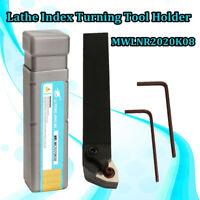 MWLNR2020K08 Lathe Turning Tool Holder for WNMG080404 Carbide Insert Blades