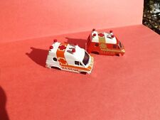 New Old Stock AFX Bodies 2 RESCUE VANS Never Had Chassis Mounted Free Shipping