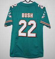 Miami Dolphins NFL shirt jersey #22 Bush Nike KIDS Size M