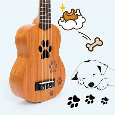 Kmise Ukelele Soprano 21 inch Ukulele Acoustic Hawaii Guitar  Mahogany for Gift