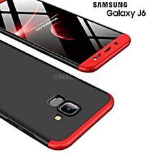 COVER per Samsung Galaxy J6 2018 Fronte Retro 360° ORIGINALE ARMOR CASE SLIM