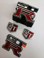 JDM Nissan R33 Skyline GTR Complete Emblem Kit