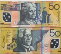 Australia 1995 Last $50 Fraser Evans JB95 1st Polymer Issue r516a + RBA Pamphlet