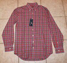 NWT Vineyard Vines Mens Small Hattertown Plaid Button Front LS Slim Fit Shirt