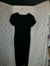 Vintage Black Renditions dress from New York. Size has faded but fits a size 8.
