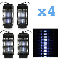 4PCS Indoor Bug Zapper Mosquito Trap Lamp Light Bulb Electronic Insect Killer SE