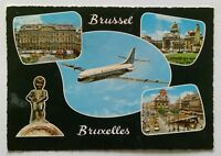 Brussels 5 Views 1968 Postcard (P288)