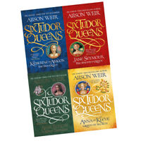 Alison Weir Collection 4 Books Set New Pack Six Tudor Queens,Haunted Queen