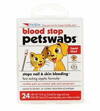 Petkin Pet Blood Stop Swabs 1 White