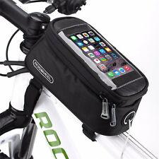 Fahrrad Tasche Rahmentasche wasserdicht Oberrohrtasche Handytasche Halterung Bag