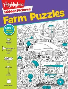 Farm Puzzles [Highlights  Hidden Pictures] New
