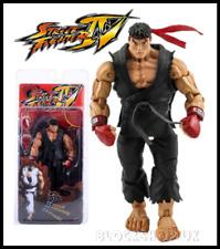 """Neca - Black Dojo Ryu - Street Fighter 7"""" Action Figure Model Capcom - Teppen"""