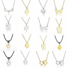 Cute Love Paw Pet Dog Cat Memorial Necklace Pendant Jewelry Heartbeat Print Gift