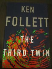 The Third Twin, by Ken Follett (1996, Hardcover, dust jacket) 1st EDITION, MINT