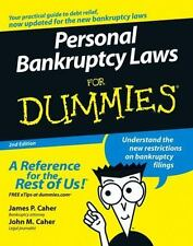 Personal Bankruptcy Laws For Dummies Caher, James P., Caher, John M. Paperback