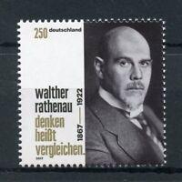Germany 2017 MNH Walther Rathenau Weimar Republic 1v Set Politicians Stamps