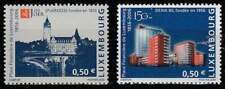 Luxemburg postfris 2006 MNH 1716-1717 - Financiel Centrum 150 Jaar