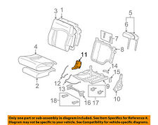 Hummer GM OEM 2004 H2 Third Row Seat-Cover 88943886