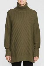 Cotton Thin Knit Turtleneck, Mock Jumpers & Cardigans for Women