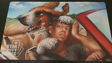 Star City Games Creature Collection Hound Dog   TCG Playmat/Mouse Pad  Brand New