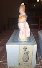 lladro figurine 4841 with box. Woman holding oranges. Has since new, excellent