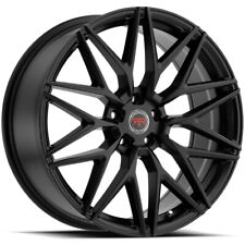 4 Revolution R18 18x8 5x45 40mm Satin Black Wheels Rims 18 Inch Fits 2011 Toyota Camry
