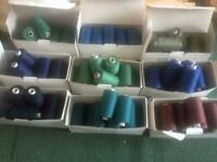 Top Thread for Hand or Machine Sewing - M75  - 10 x 1000mtr cops for upholstery