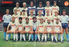 V.I. 1984 nr. 06 - FC GRONINGEN (POSTER) / MARIO BEEN / JESPER OLSEN / CAMBUUR