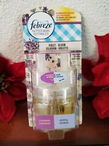 1 Febreze NOTICEables Air Freshener Scented Oil Refill Violet Bloom
