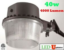 LEDUPDATES 40W DUSK TO DAWN LED LIGHT ETL BARN AREA FARM OUTDOOR SECURITY WALL