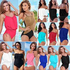 femmes Sexy pièce unique monokini Plage bikini maillot de bain grande taille