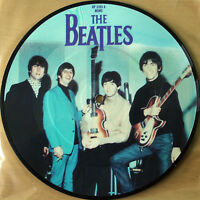 "EX/EX Beatles Picture Disc 7"" Vinyl Ticket To Ride 20th Anniversary the"