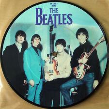 """Billete De Vinilo De Los Beatles imagen disco 7"""" para montar el 20th aniversario"""